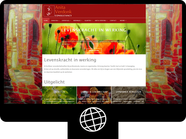 Anita Verdonk – website