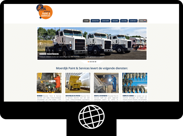 Moerdijk Paint & Services – website