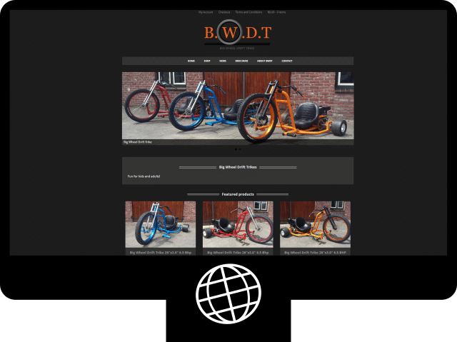 Big Wheel Drift Trike - webshop