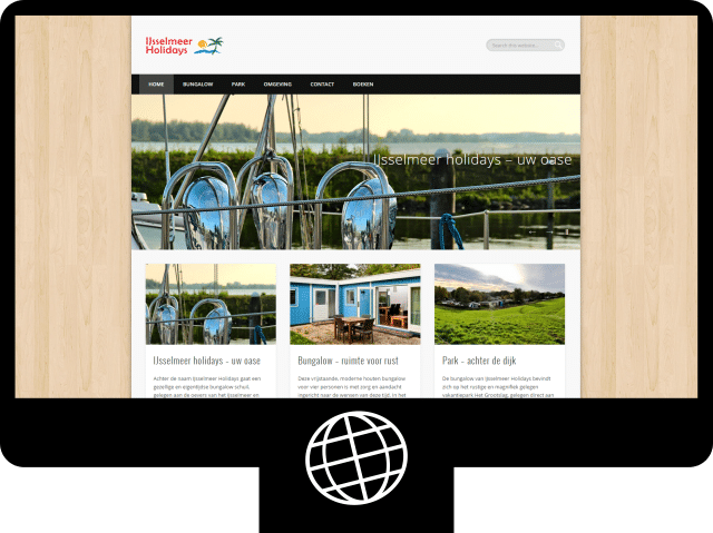 IJsselmeer holidays - website