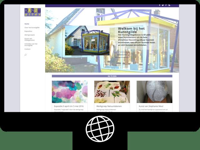 Kunstgilde Heuvelrug - website