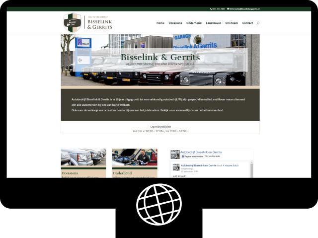 Bisseling & Gerrits - website