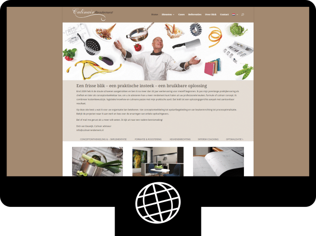 Culinair Rendement - website