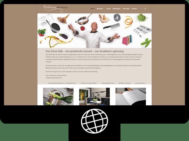 Culinair Rendement — website