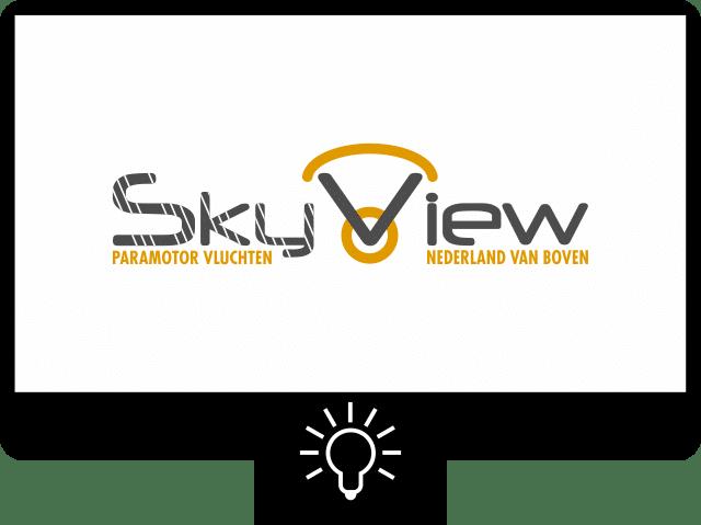 Skyview Nijmegen — logo