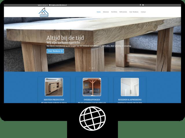 Bouwbedrijf Renkens — website