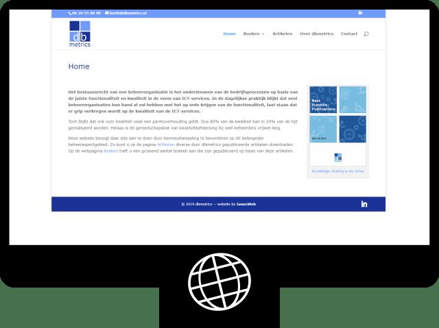 dbmetrics — website
