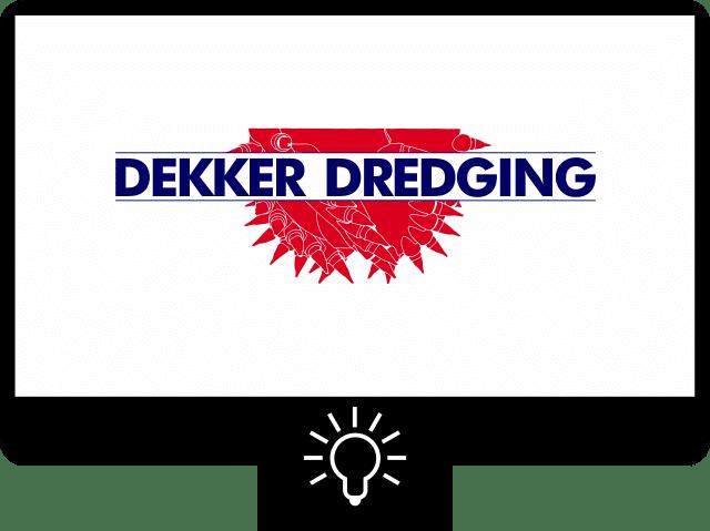 Dekker dredging — logo