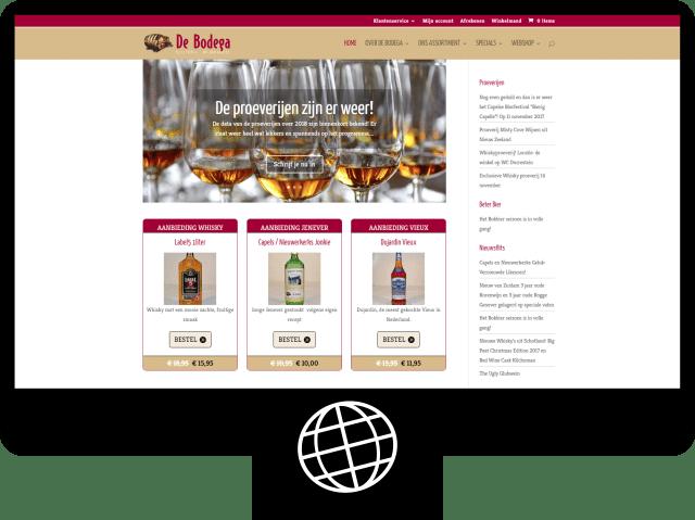De Bodega van Wijk — webshop