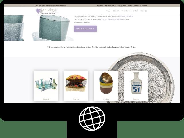 Hartelust cadeaus & brocante — webshop