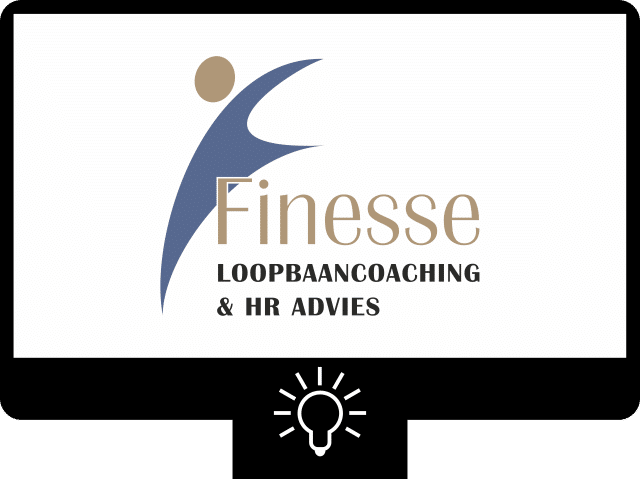 Finesse loopbaancoaching — logo
