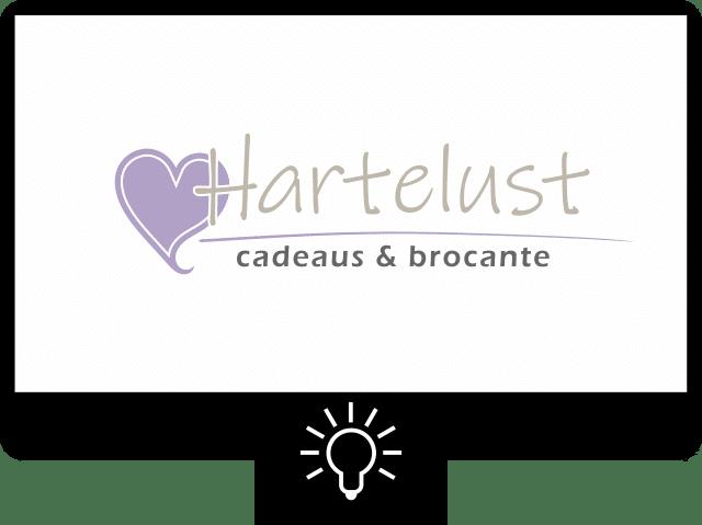 Hartelust cadeaus — logo