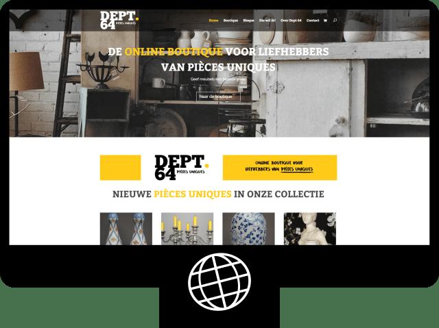 Dept64 — webshop