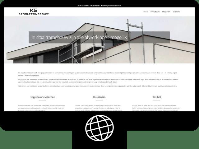 KG Staalframebouw — website