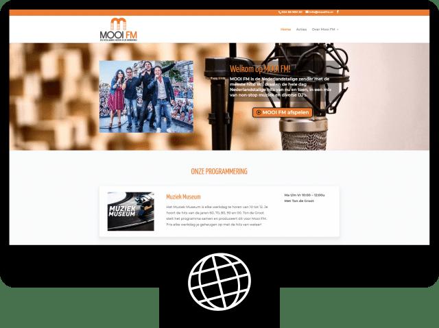 Mooi FM — website