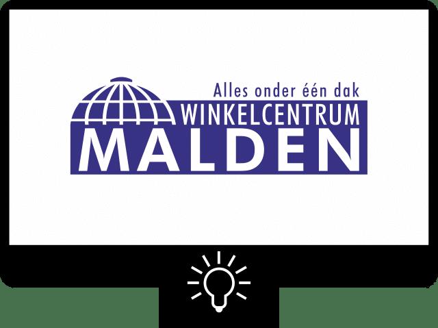 Winkelcentrum Malden — logo