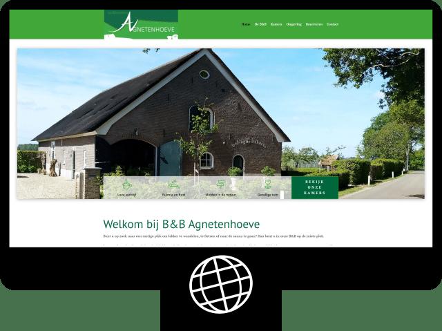 B&B Agnetenhoeve — website