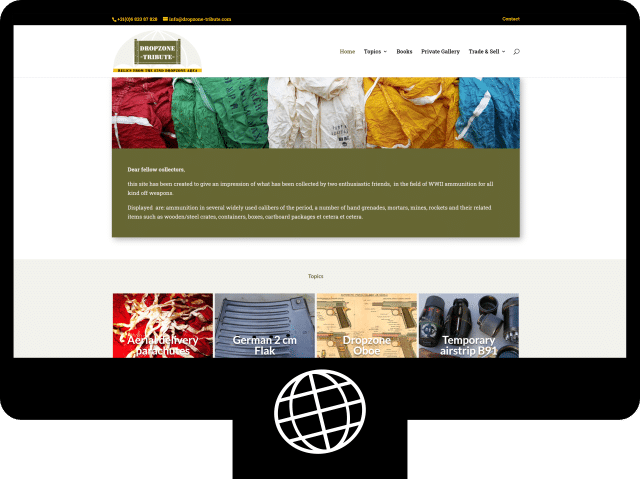 Dropzone Tribute — webshop