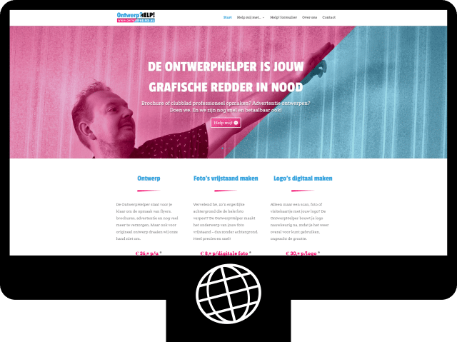 Ontwerphelper — website
