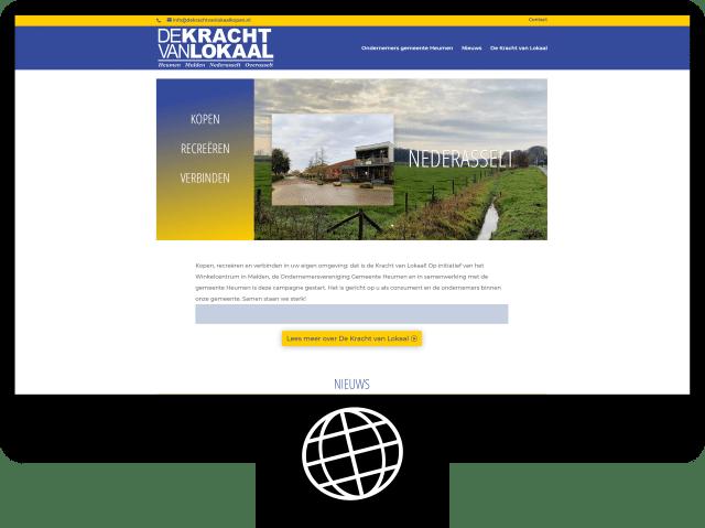 De Kracht van Lokaal kopen — website