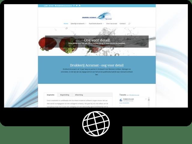 Drukkerij Accuraat — website