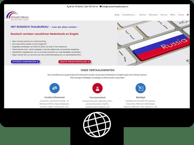 Russisch Taalbureau — website